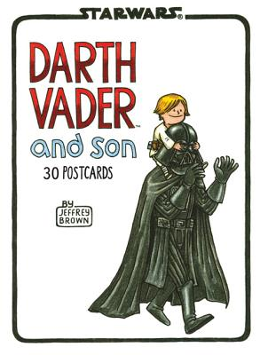 Darth Vader and Son Postcard Book By Brown, Jeffrey